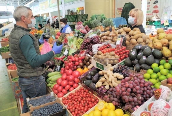 В Украине начали закрывать продуктовые рынки фото, иллюстрация