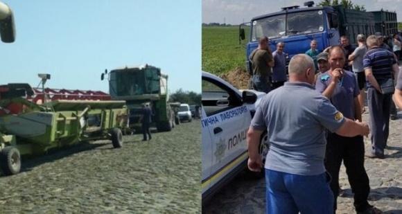 На Ровенщине состоялась очередная попытка рейдерского захвата урожая фермеров  фото, иллюстрация