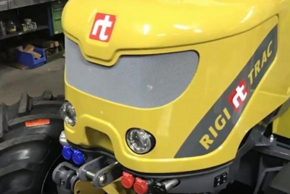 В Швейцарии разработали прототип электрического трактора фото, иллюстрация