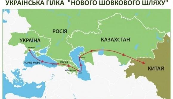 """""""Шовковий Шлях"""" через Україну: що передбачає план спільних дій? фото, ілюстрація"""