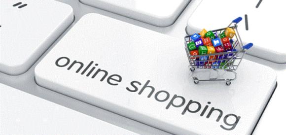Український шопінг все більше йде в мережу. У тренді - покупка продуктів фото, ілюстрація