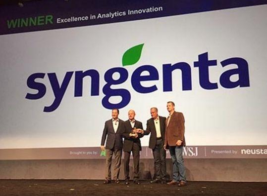 Syngenta наградили за инновационность аналитических решений для АПК фото, иллюстрация