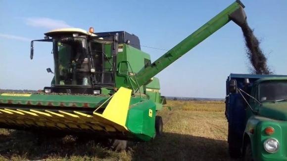 Харківщина попри посуху отримала рекордний урожай соняшнику фото, ілюстрація