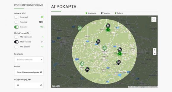 Украинцы создали платформу для оперативной аренды сельхозтехники фото, иллюстрация