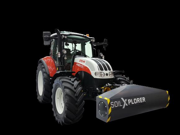 Steyr обладнуватиме трактори сенсорами грунту фото, ілюстрація