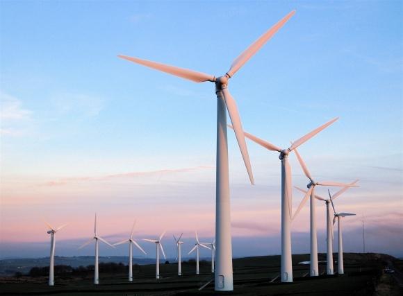 Заработала вторая очередь самой мощной в  Карпатах ветроэлектростанции фото, иллюстрация