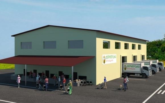 Проект «Фермерская родина» из пригорода Киева планирует начать строительтво первых двух распределительных терминалов фото, иллюстрация