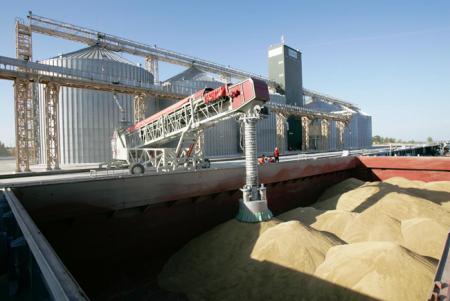 Портові елеватори ДПЗКУ ввійшли в п'ятірку кращих зернових терміналів України фото, ілюстрація