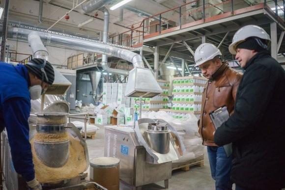 На Черкащині відкрито цех з виробництва гранульованих добрив для точного землеробства фото, ілюстрація