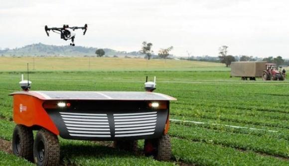 Австралія - один з головних новаторів в сфері агророботів фото, ілюстрація