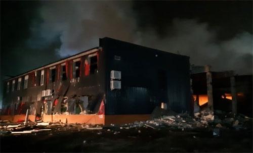 У Дніпрі стався сильний вибух на МЕЗ «Потоки» фото, ілюстрація