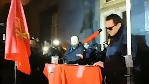 """Под офисом президента митинговали за введение """"праволиберального рынка земли"""" фото, иллюстрация"""