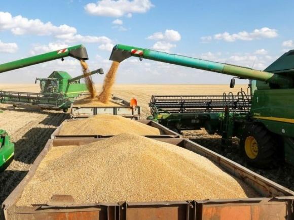 Такого врожаю зернових за роки незалежності не було! фото, ілюстрація