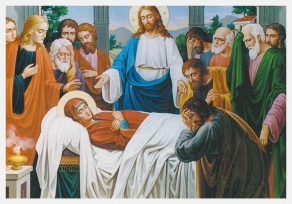 Сегодня конец церковного года - Успение Пресвятой Богородицы фото, иллюстрация