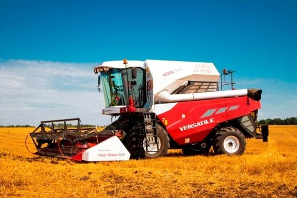 Новий зернозбиральний комбайн NOVA від VERSATILE  фото, ілюстрація