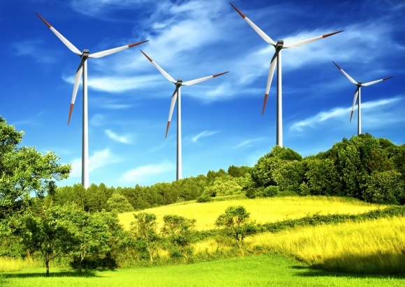 По всьому світу працює понад 341 тис. вітрових турбін фото, ілюстрація