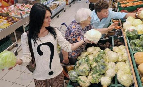 Украинцы уже не живут в стране с низкими ценами фото, иллюстрация