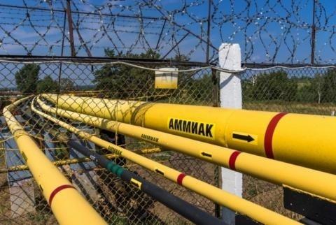 Через роздавальні станції аміакопроводу «Тольятті-Одеса» розпочато видачу аміаку  фото, ілюстрація