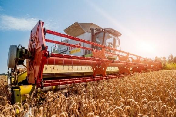 Украина. Уборка ранних зерновых близится к завершению фото, иллюстрация