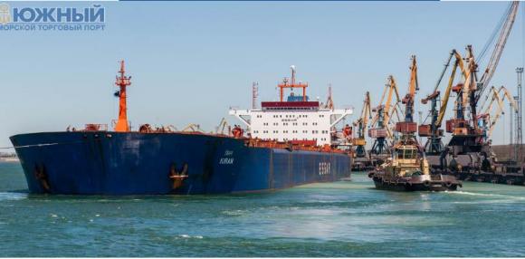 Углубление порта «Южный» увеличит экспорт зерна на 5 млн т фото, иллюстрация