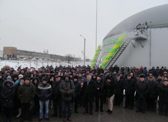 В Хмельницкой области состоялось официальное открытие биогазового комплекса фото, иллюстрация