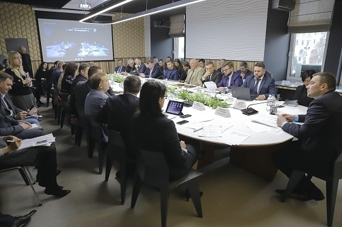 Відбулося перше засідання штабу з оперативного вирішення питань логістики в АПК фото, ілюстрація