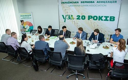 УЗА просит инициировать пересмотр протокола между Украиной и Китаем с целью упрощения экспорта зерна в КНР фото, иллюстрация