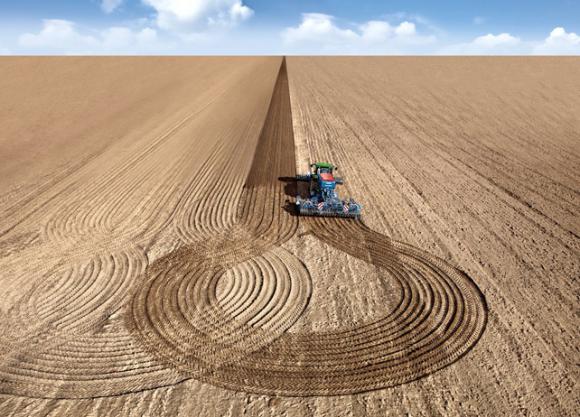 Введение точного земледелия повысит урожайность на 10-30% фото, иллюстрация