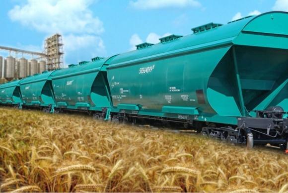 """""""Укрзализныця"""" увеличила предложение свободных зерновозов до 3,8 тыс. вагонов фото, иллюстрация"""
