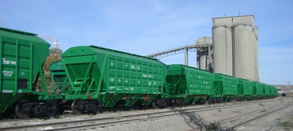 Обсяги внутрішніх перевезень зерна залізницею зросли на 10%  фото, ілюстрація