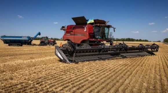 Аграрии Запорожской области первыми в Украине завершили уборку зерновых культур фото, иллюстрация