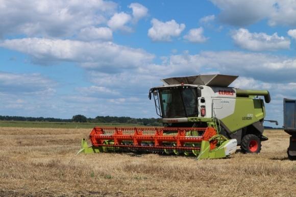 На Херсонщине завершилась жатва озимой пшеницы фото, иллюстрация