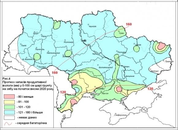 В Украине сложились неблагоприятные условия для накопления влаги в почве фото, иллюстрация