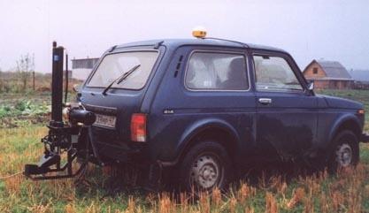 Пробовідбірник на базі автомобіля «Нива»