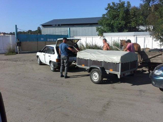 Очередь поставщиков сырья на заморозку. Тернопольская область