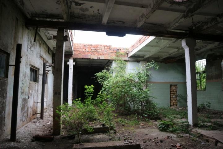 Зараз цехи колишнього сокового заводу мають такий вигляд