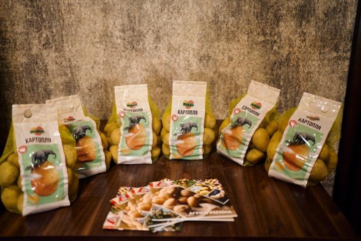 """Картопля, вирощена компаніє """"Агріко"""" згідно протоколу від компанії """"Сингента"""", успішно продається в мережі елітних продуктових магазинів"""