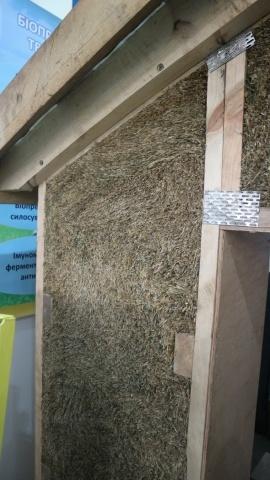 Будівельні панелі з соломи