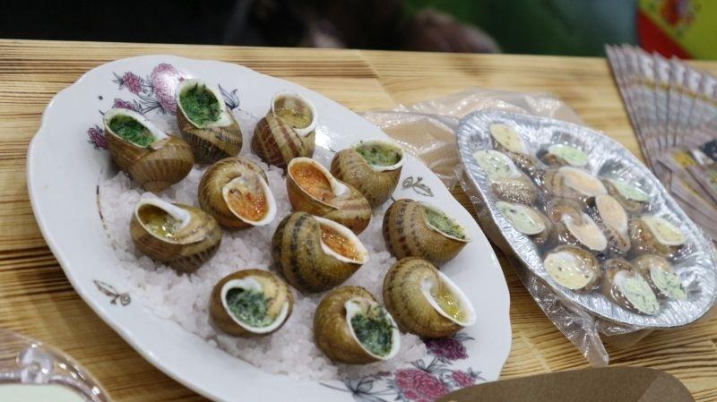 виноградні равлики, вирощені в Україні