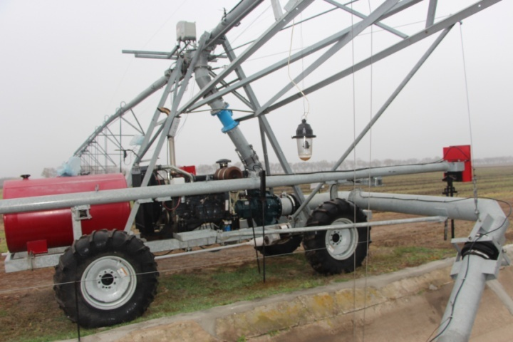 Дощувальна машина Zimmatic