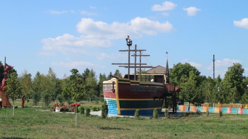 Піратський корабель у парку