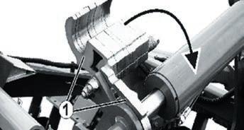 Фото 13. Механізм регулювання глибини обробітку ґрунту