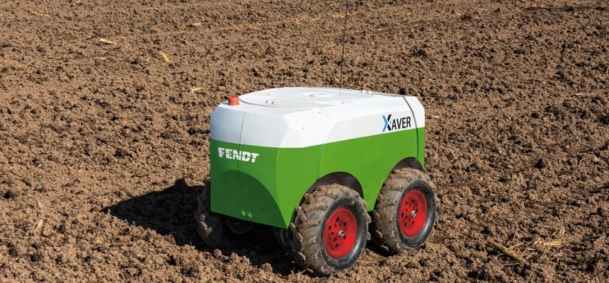 робот MARS XAVER розробки Fendt