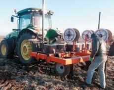 Пристрій навісний для підземного укладання крапельних ліній (виробник — ZACH Agricultural Equipment, Ізраїль)