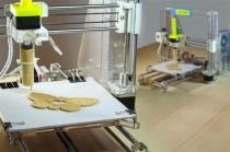 3D-принтер пристосували для друку їжі з кріогенного борошна