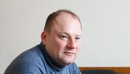 Заступник директора з наукової роботи Інституту садівництва НААНУ Олександр Ярещенко