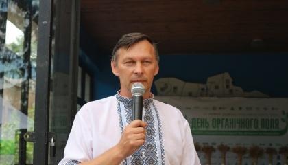 Директор Сквирської сільськогосподарської дослідної станції Юрій Терновий