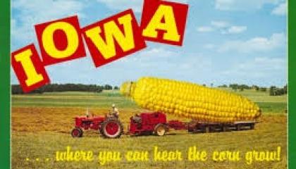 """""""Айова - там, де можна почути, як росте кукурудза"""", - написано на туристичних листівках штату"""