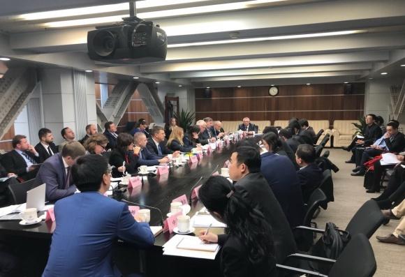 Делегація ДПЗКУ здійснила візит до Китаю фото, ілюстрація