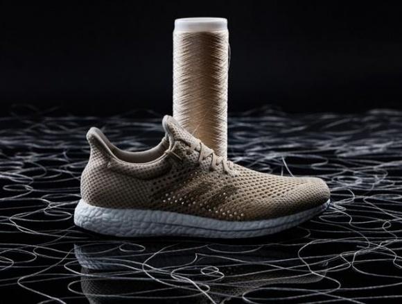 Аdidas презентовал первые в мире биорастворимые кроссовки фото, иллюстрация